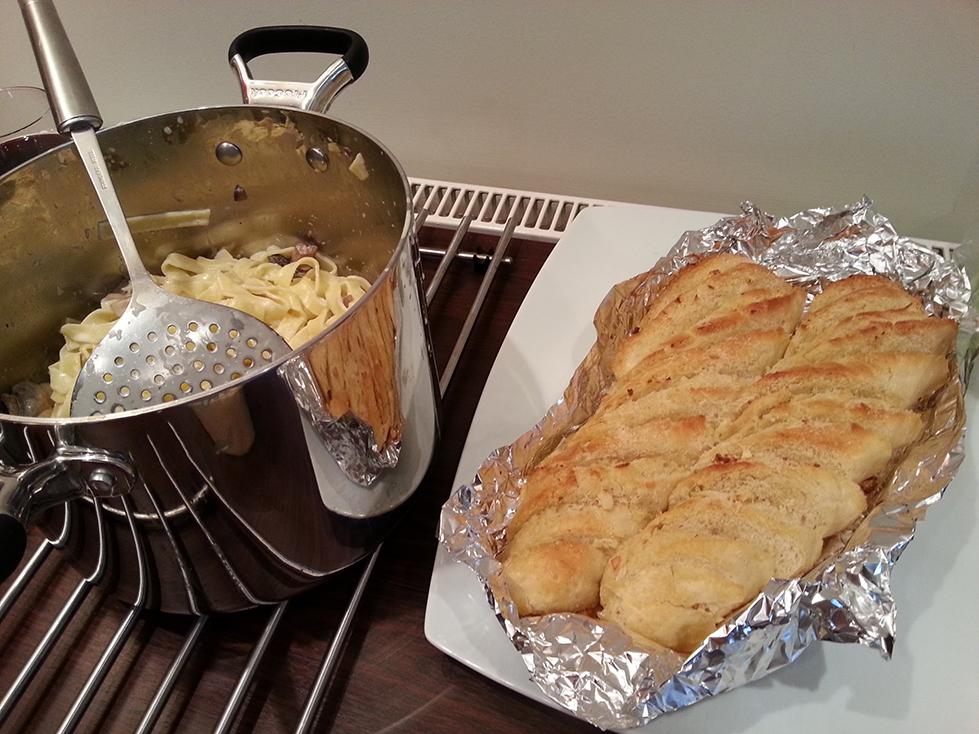 Home-Made Garlic Bread